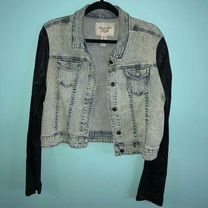 Juniors American Rag jean jacket